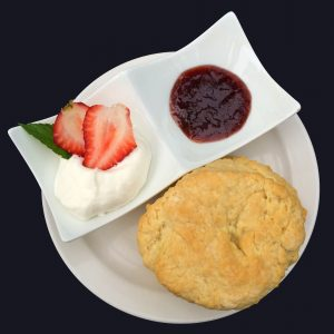 Vegan Scones with Homemade Strawberry Jam and Coconut Whipped Cream Recipe