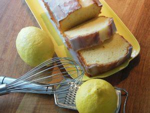 Vegan Lemon Drizzle Cake Recipe
