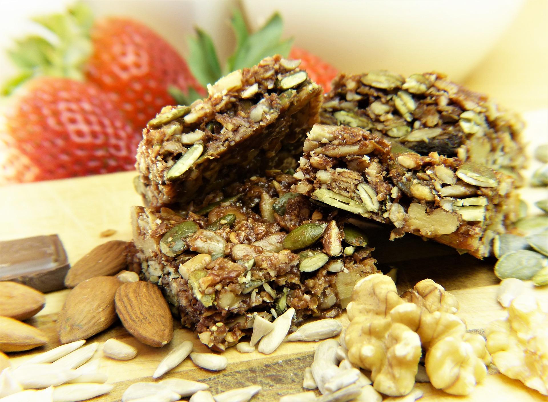 Raw Vegan Granola Bar Recipe